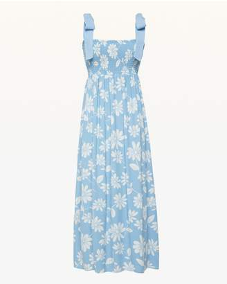 Juicy Couture Sketched Daisies Midi Dress