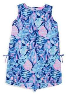 Lilly Pulitzer Girl's Two-Piece Mini Donna Dress& Bloomers Set