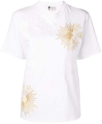 Lanvin embroidered detail T-shirt