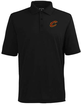 Antigua Men's Cleveland Cavaliers Pique Xtra-Lite Polo