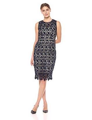 Eliza J Women's Sleeveless Lace Sheath Dress
