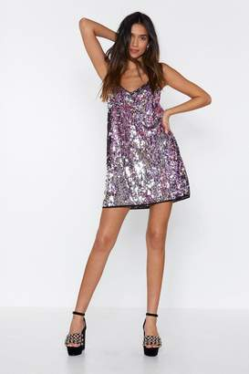 Nasty Gal Girls Just Want to Have Fun Sequin Dress