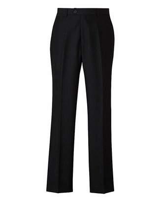 W&B London Black Tonic Suit Trousers