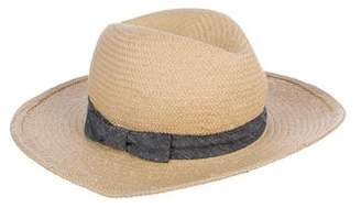 Hat Attack Straw Fedora Hat