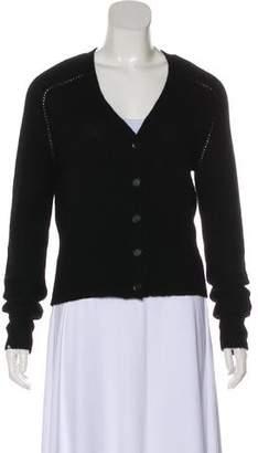 Burberry Cashmere Knit Cardigan