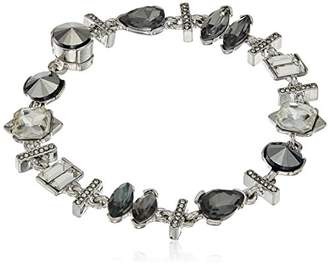 Kenneth Cole New York Stone Cluster ed Metallic Faceted Stone Bracelet
