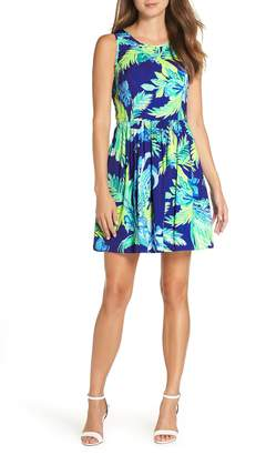 Lilly Pulitzer R) Kassia Fit & Flare Dress