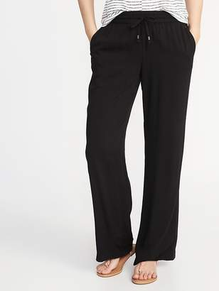 Old Navy Mid-Rise Wide-Leg Soft Pants for Women
