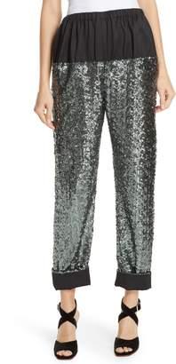 Rachel Comey Tremble Sequin Panel Pants