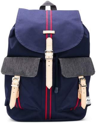 Herschel stripe panelled backpack