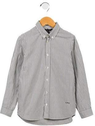 Little Marc Jacobs Boys' Pinstriped Button-up Shirt