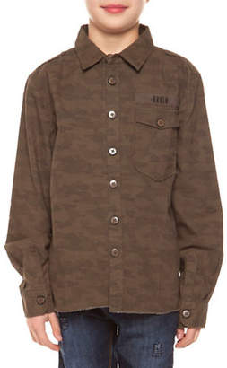 Dex Camouflage Cotton Collared Shirt