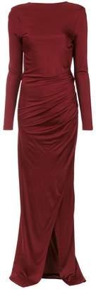 Tufi Duek draped gown