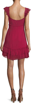 Cinq à Sept Frankie Sweetheart-Neck Sleeveless A-Line Dress