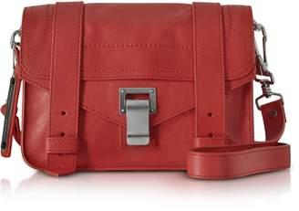 Proenza Schouler Dark Ruby Ps1 Mini Lux Leather Crossbody