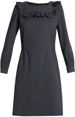 A.P.C. Mel polka-dot twill dress $285 thestylecure.com