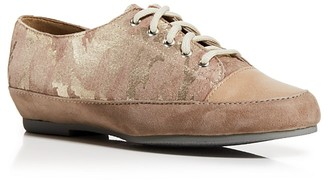 Munro Lace Up Sneakers - Petra Camo Print $200 thestylecure.com