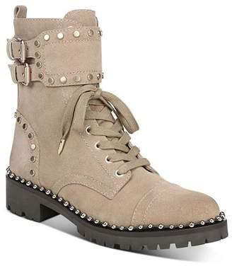 Sam Edelman Women's Jennifer Studded Combat Boots