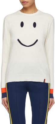 Kule 'The Smile' intarsia cashmere blend sweater
