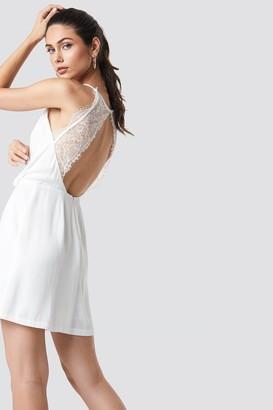 Samsoe & Samsoe Willow Short Dress Clear Cream