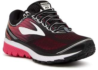Brooks Ghost 10 Running Shoe - Wide Width Available