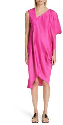 Zero Maria Cornejo Asymmetrical One-Shoulder Dress