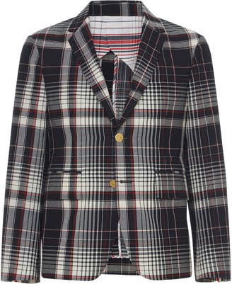 Thom Browne Checked Wool-Blend Sport Coat