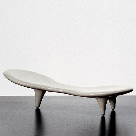 Cappellini - cappellini orgone chaise lounge by marc newson