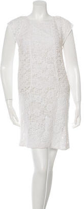 Trina Turk Crochet Shift Dress w/ Tags $125 thestylecure.com