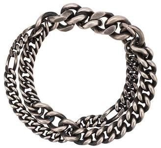 Werkstatt:Munchen double chain bracelet