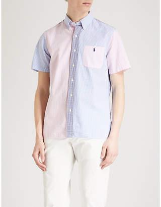 Polo Ralph Lauren Fun patterned custom-fit cotton seersucker shirt