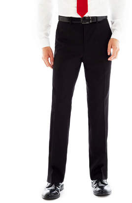 BILLY LONDON Billy London UK Black Flat-Front Suit Pants