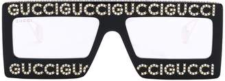 Gucci Mask Frame Sunglasses