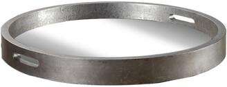 Uttermost Bechet Round Silver Tray