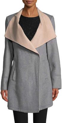 Laundry by Shelli Segal Women's Double Face Wool Coat