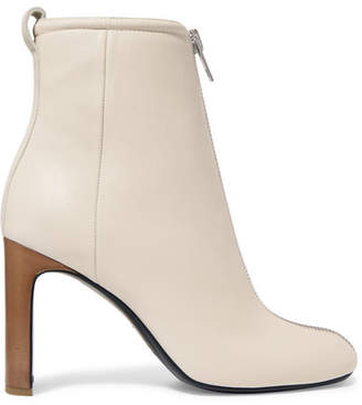 Rag & Bone Ellis Leather Ankle Boots - White