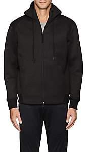 Isaora MEN'S NEOPRENE ZIP-FRONT HOODIE - BLACK SIZE XL