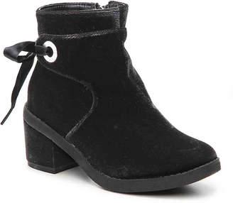 MICHAEL Michael Kors Fawn Dow Toddler & Youth Velvet Boot - Girl's