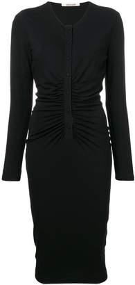 Roberto Cavalli fitted midi dress