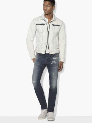 John Varvatos Modern Denim Trucker Jacket