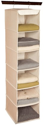 Richard's Homewares Richards Homewares Loft Natural 6-Shelf Hanging Sweater Organizer