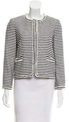 Alice + Olivia Striped Structured Jacket