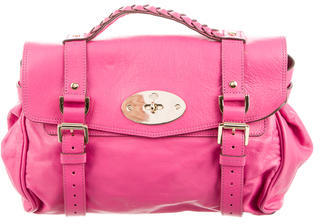 Mulberry Leather Alexa Bag $560 thestylecure.com