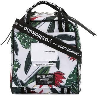 Yoshio Kubo Yoshiokubo floral print messenger bag