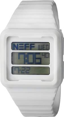 Neff Men's NF0234WHIT Odyssey Digital Display Chinese Automatic Watch