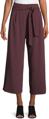 Parker Tie-Waist Culottes