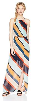 Amy Byer A. Byer Junior's Belted Maxi Dress
