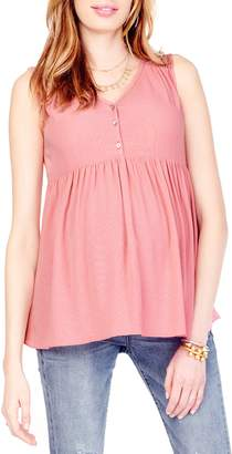 Ingrid & Isabel R) Crinkle Maternity Top
