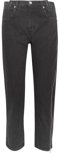 3.1 Phillip Lim3.1 Phillip Lim - Zip-embellished Slim Boyfriend Jeans - Black
