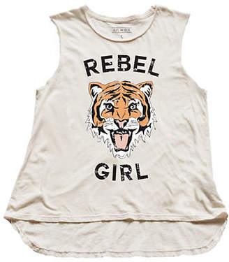 HIPS AND HAIR Rebel Girl Muscle Tee